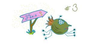 """Vacances monstrueuses au pays des Fées – Chapitre 3 – Invasion de Croquants-bulles <span class=""""badge-status"""" style=""""background:#FF912C"""">abonnés</span>"""