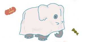 """L'éléphant-tôme <span class=""""badge-status"""" style=""""background:#FF912C"""">abonnés</span>"""