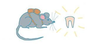 """La petite souris des dents <span class=""""badge-status"""" style=""""background:#FF912C"""">abonnés</span>"""