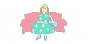 """La reine Mémère <span class=""""badge-status"""" style=""""background:#FF912C"""">abonnés</span>"""