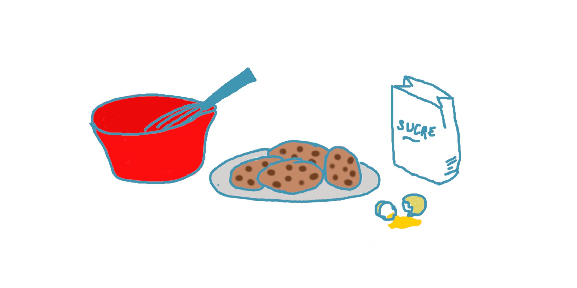 """Recette de cookies <span class=""""badge-status"""" style=""""background:#FF912C"""">abonnés</span>"""