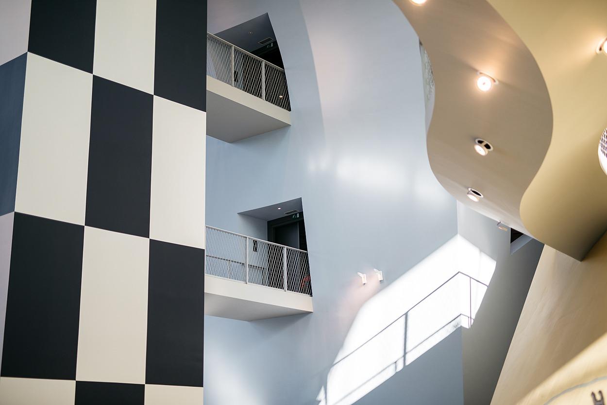 Musée Hergé - intérieur