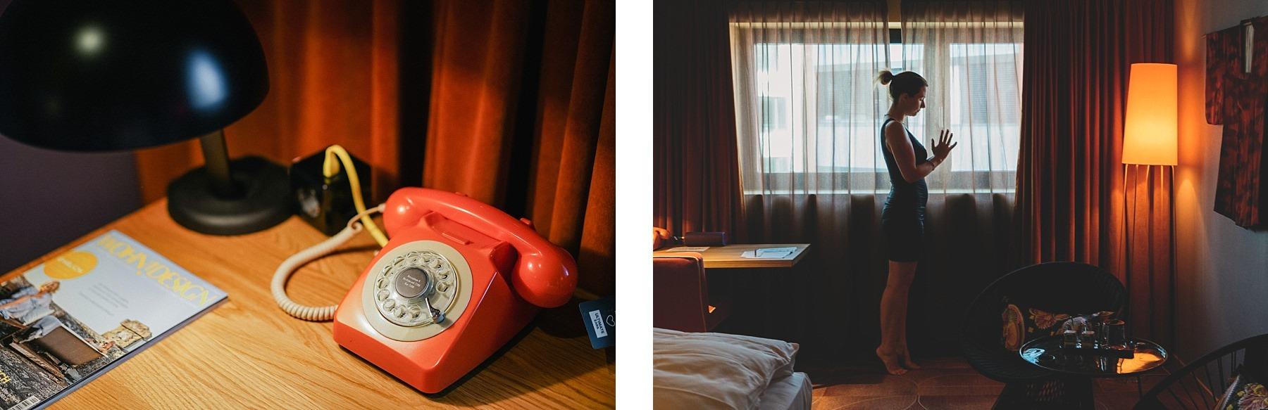 25 hours hotel Francfort - la chambre