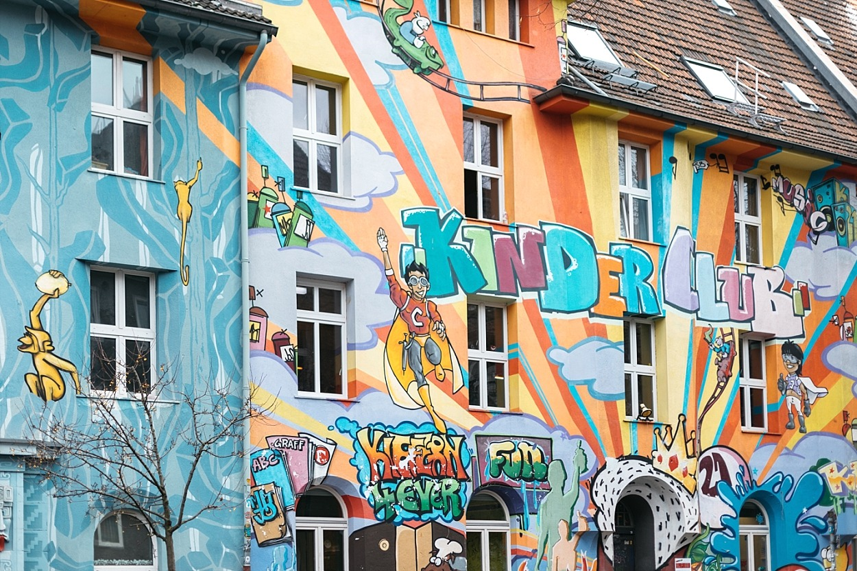 Dusseldorf - Kiefernstrasse - Boussole magique
