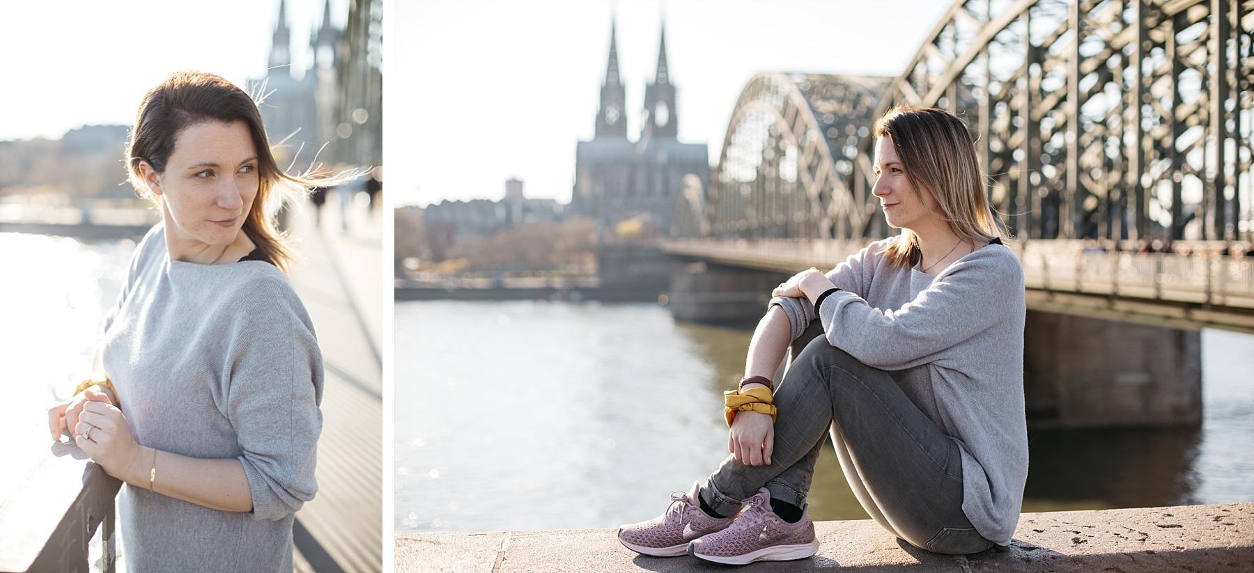 Cologne pont Hohenzollern