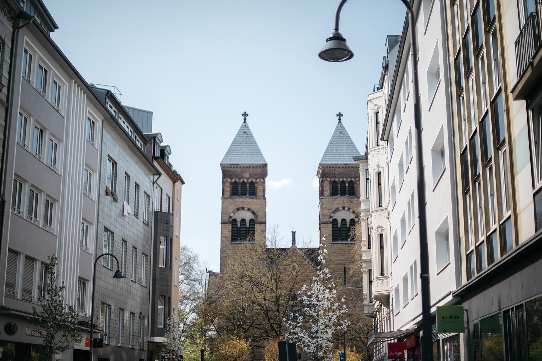 Cologne - vue depuis la rue