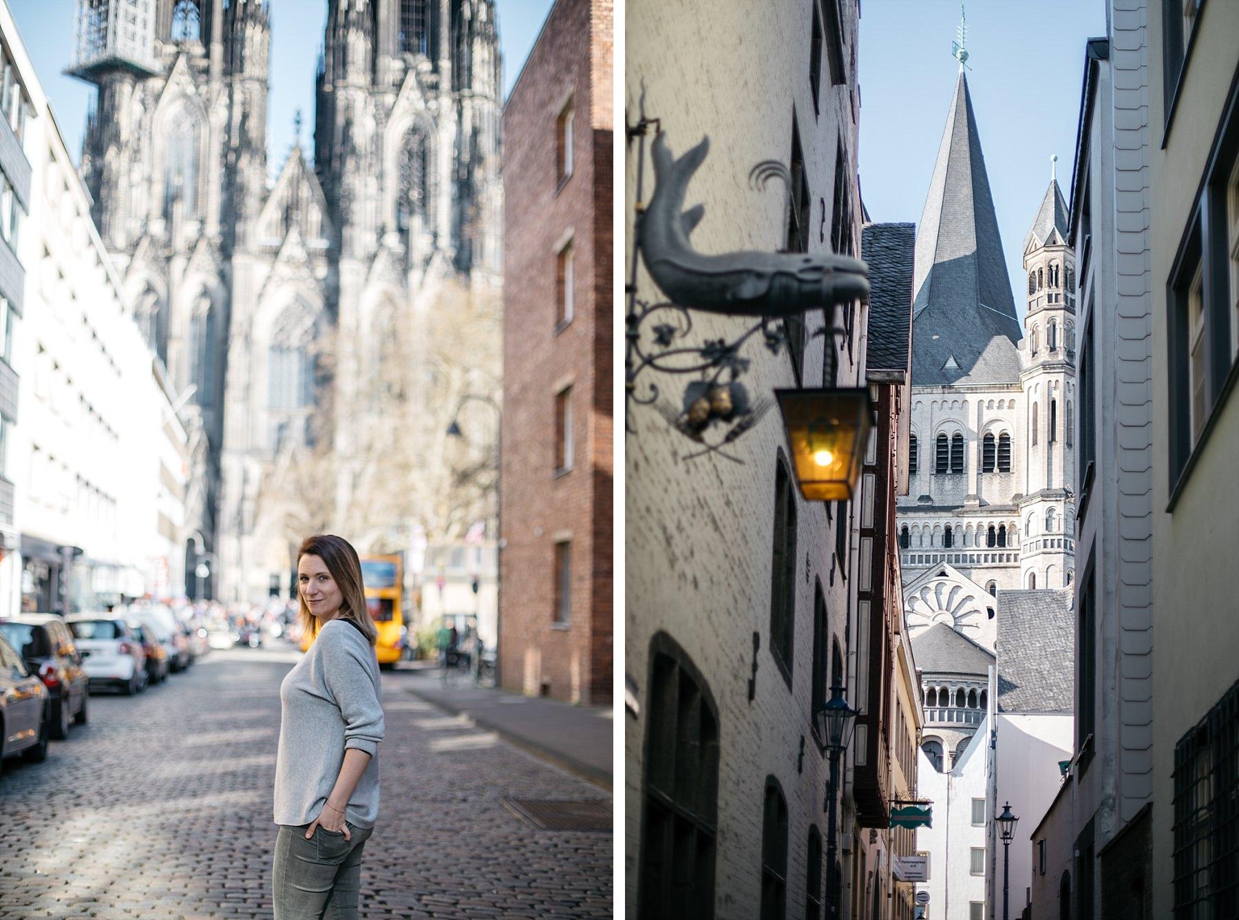 Cologne cathédrale vue extérieure