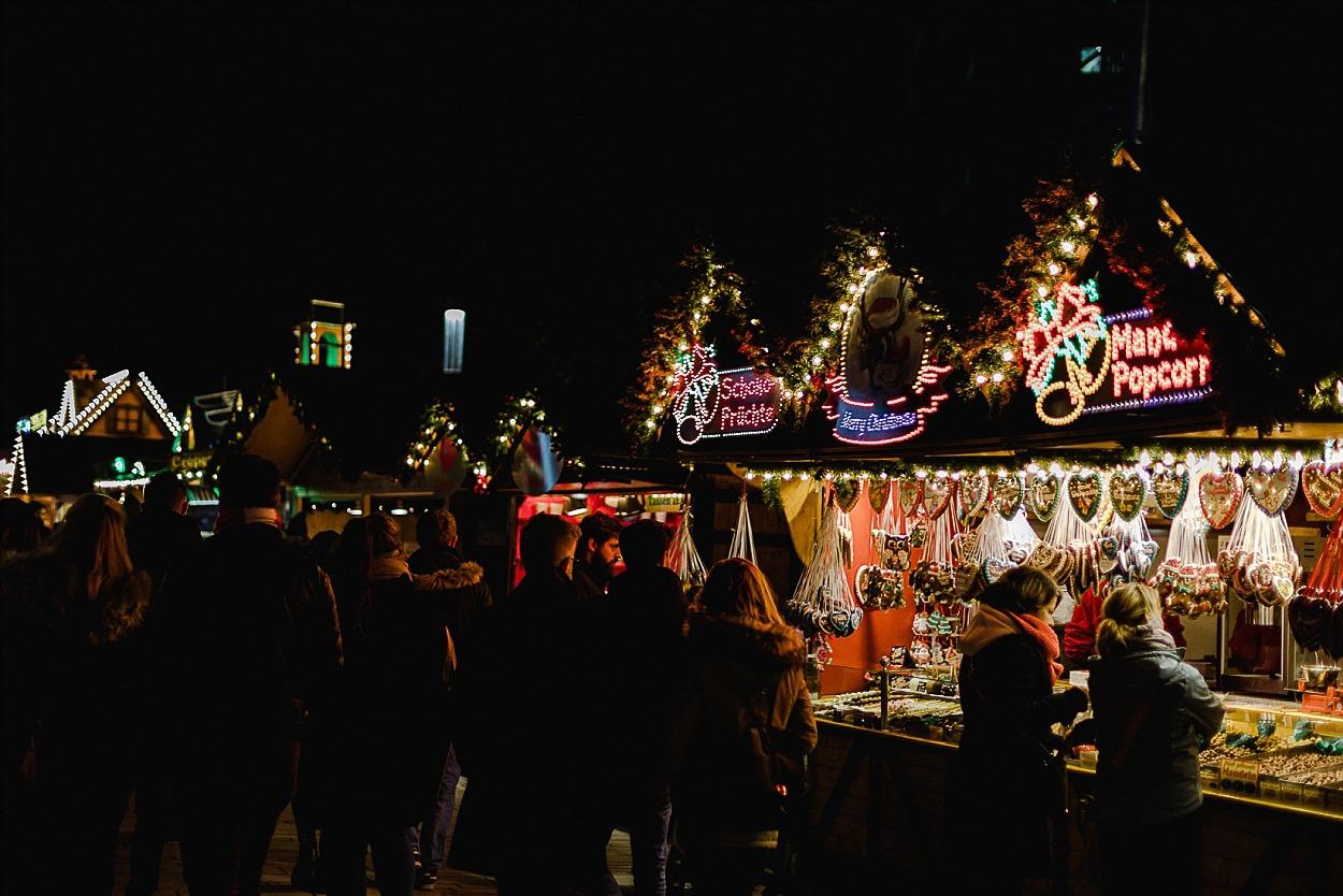 Dusseldorf - marché de Noel - Boussole magique