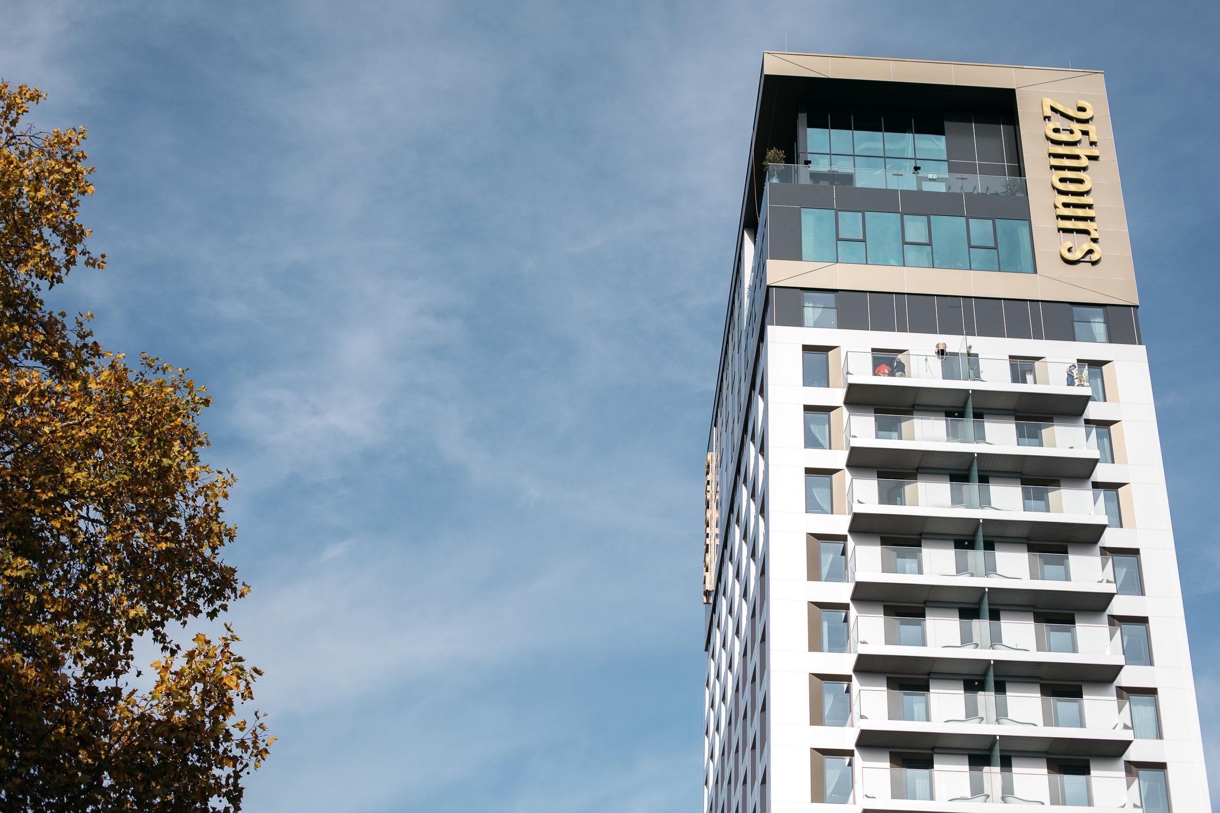 Dusseldorf - 25 Hours hotel das tour - Boussole magique