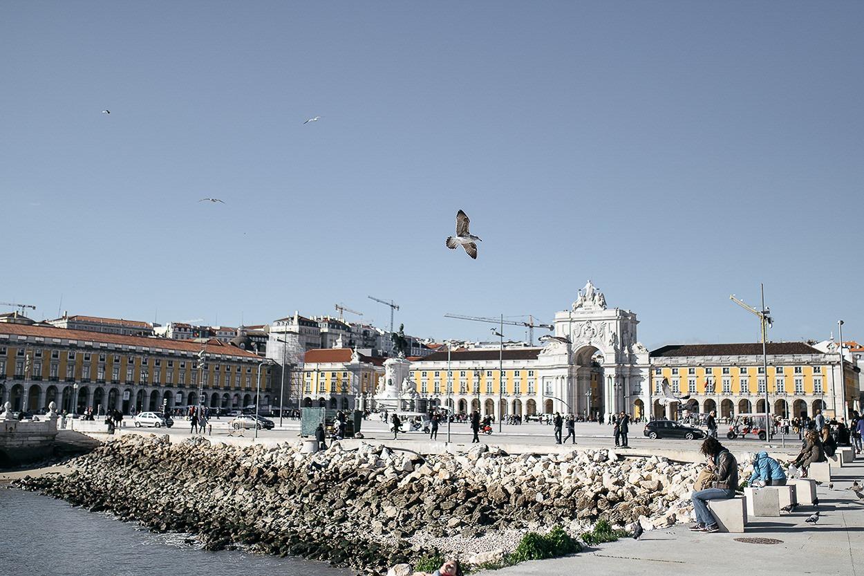 Lisbonne - Praça do Comércio