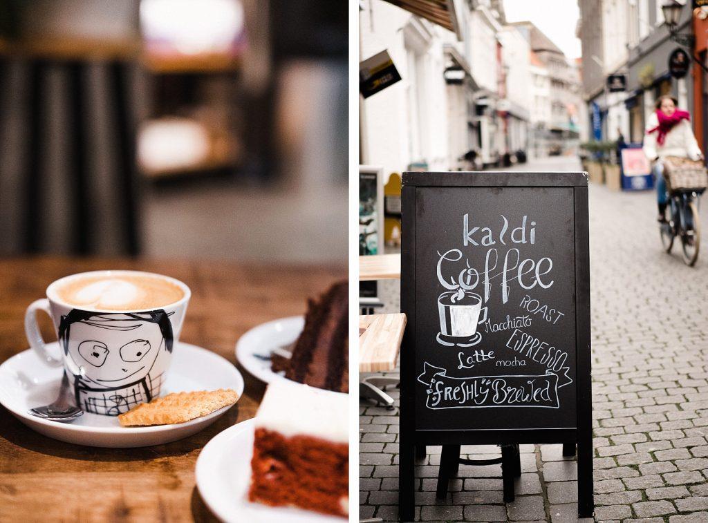 Bergen op Zoom - boire un café chez Kaldi