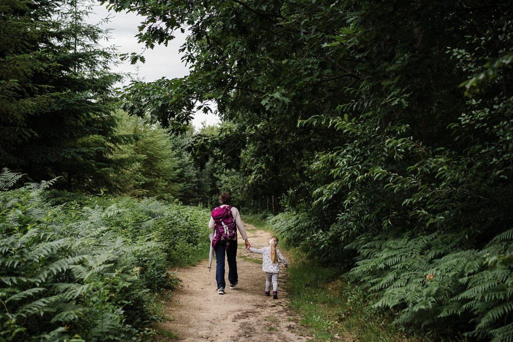Villers-la-ville - marche en forêt