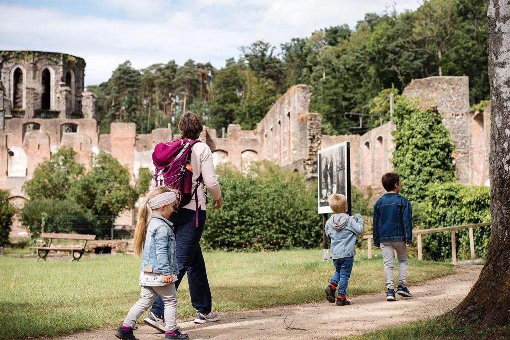 9km en forêt pour les ruines de Villers-la-ville 35