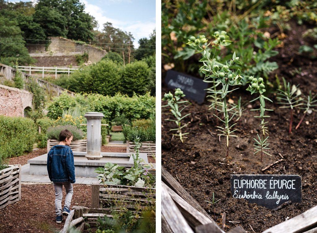 Villers-la-ville - jardins aromatiques