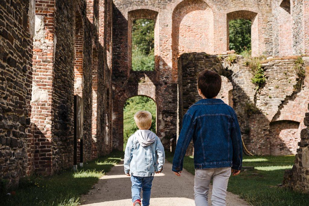 9km en forêt pour les ruines de Villers-la-ville 44