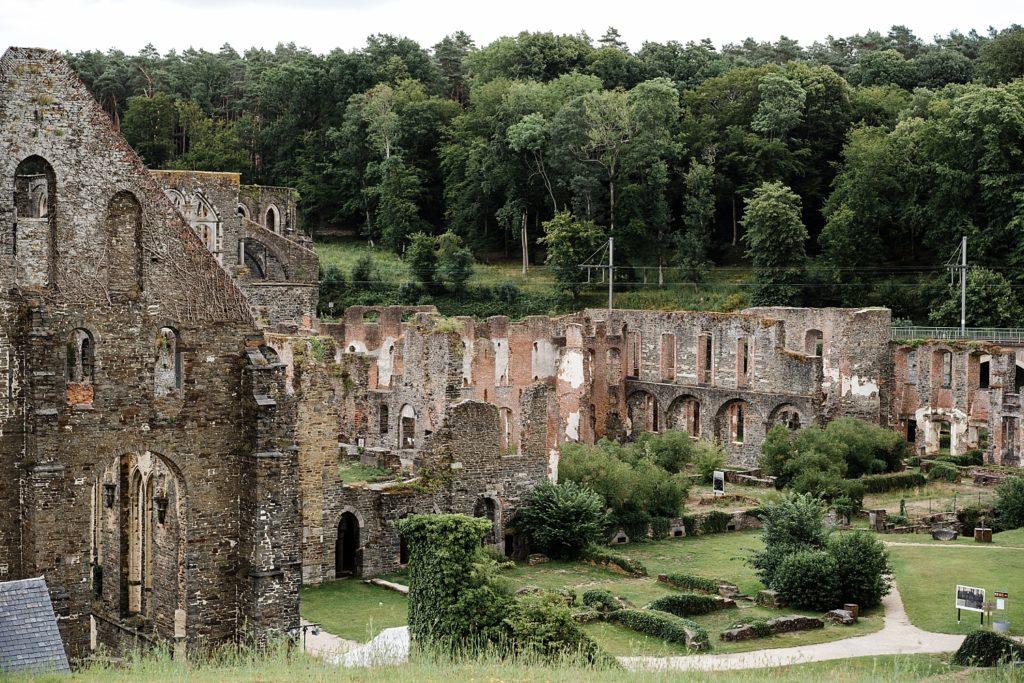 9km en forêt pour les ruines de Villers-la-ville 53