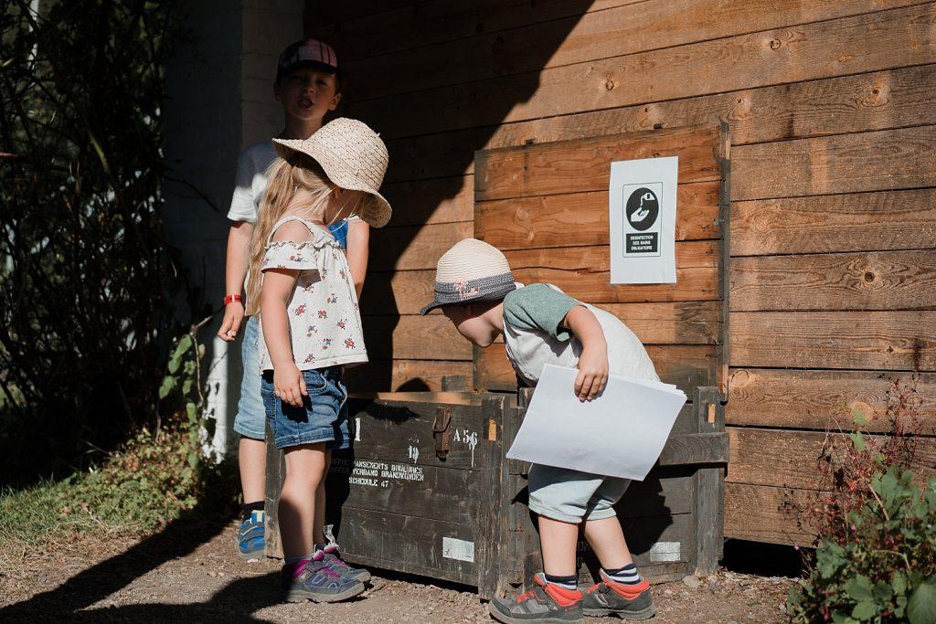 Chasse au trésor ou comment motiver les enfants à faire des randonnées 74