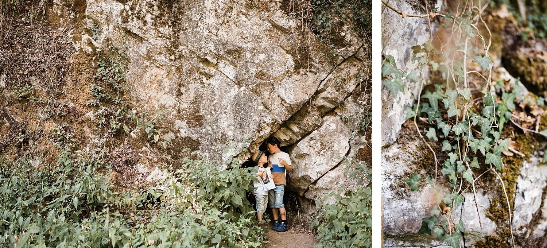 Vallée de la Solières - chasse au trésor et grottes