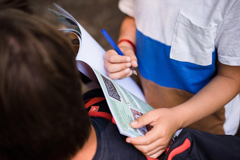 Chasse au trésor ou comment motiver les enfants à faire des randonnées 22