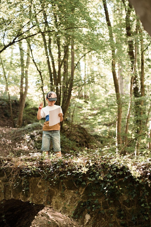 Chasse au trésor ou comment motiver les enfants à faire des randonnées 46