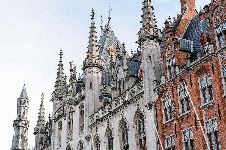 Bruges - palais provincial - historium - terrasse panoramique
