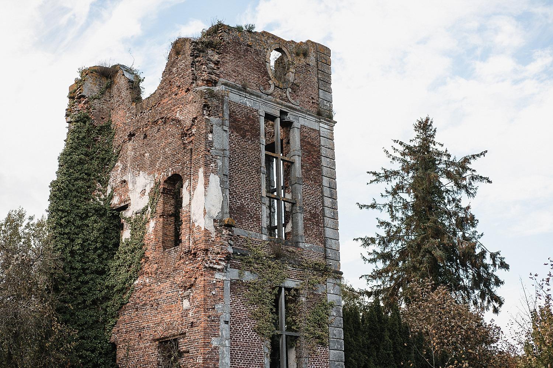 Abbaye d'Aulne - la tour