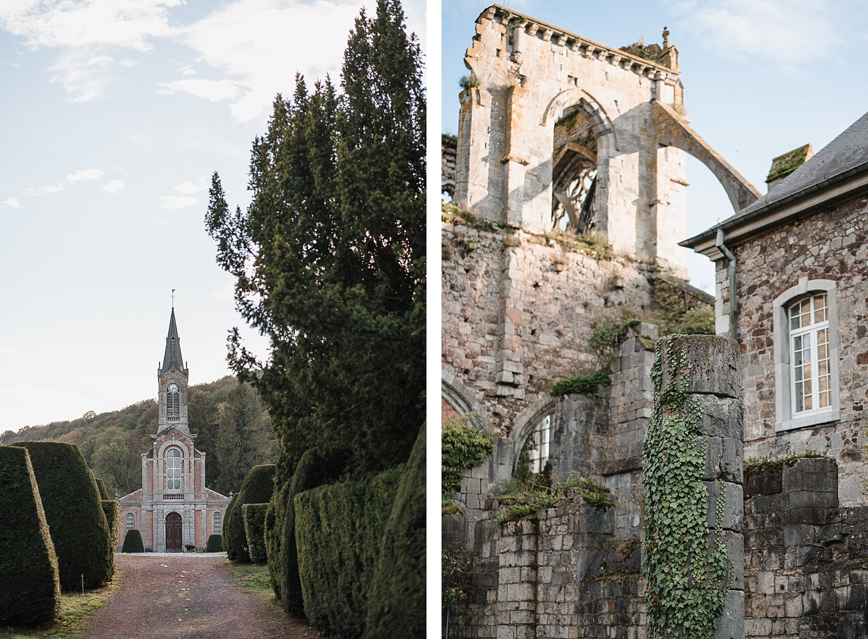 Randonnée autour de l'Abbaye d'Aulne 1