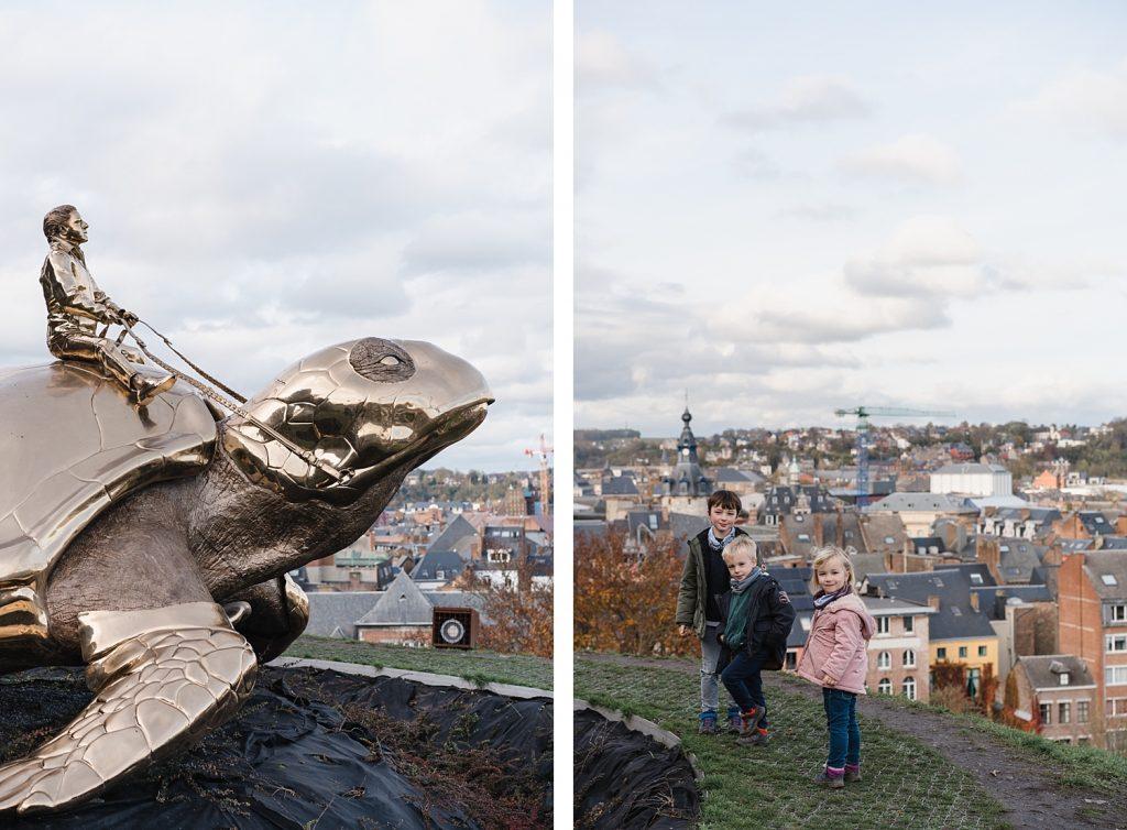 A la découverte de Namur avec Totemus 71