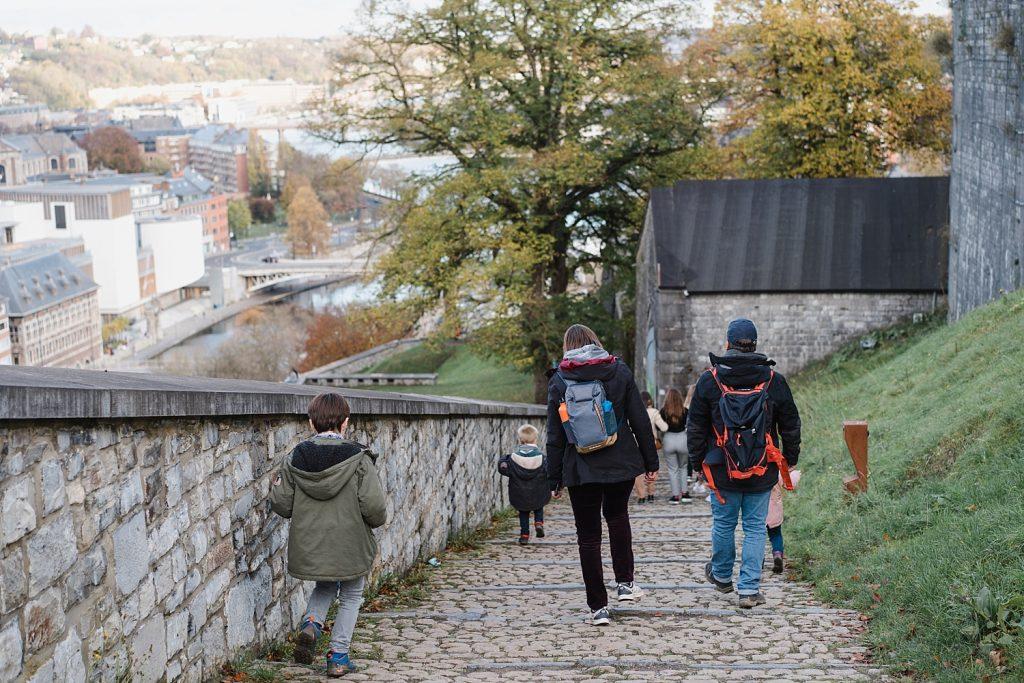 A la découverte de Namur avec Totemus 68