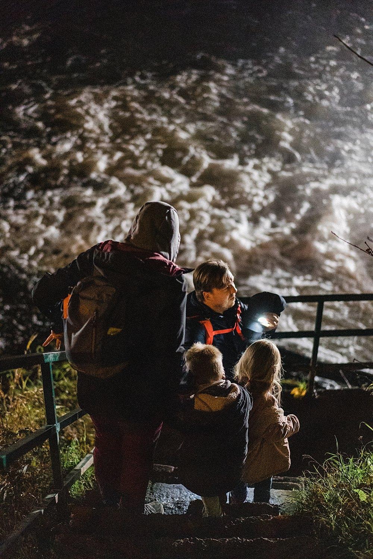 Coo lac cascade Totemus randonnée en famille