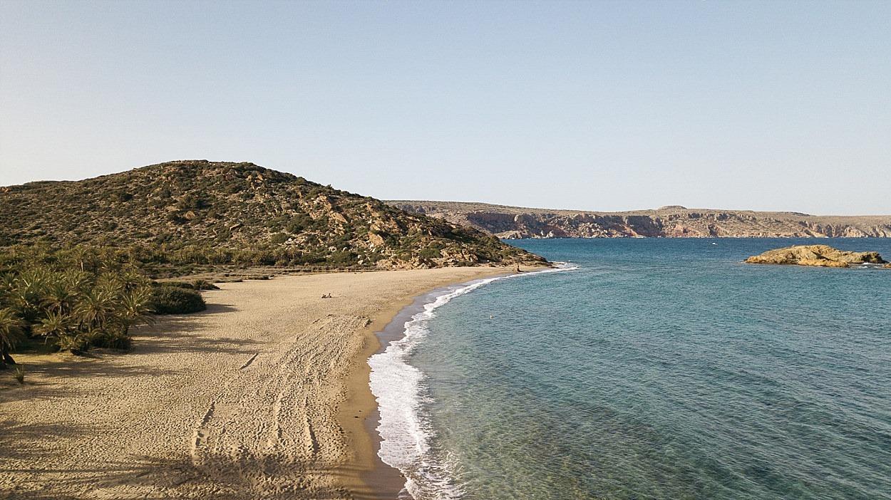 palmeraie de vai Crète