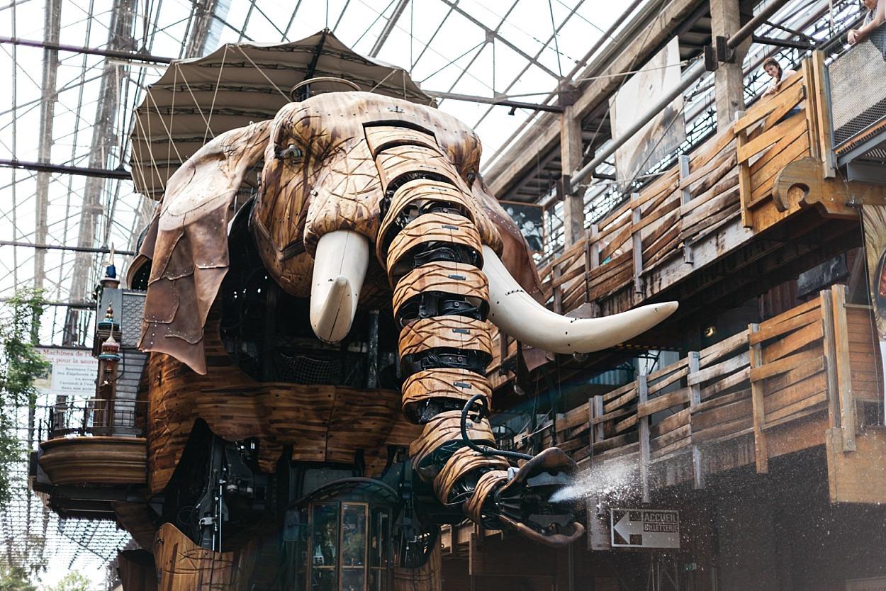 Ile des machines Nantes éléphant