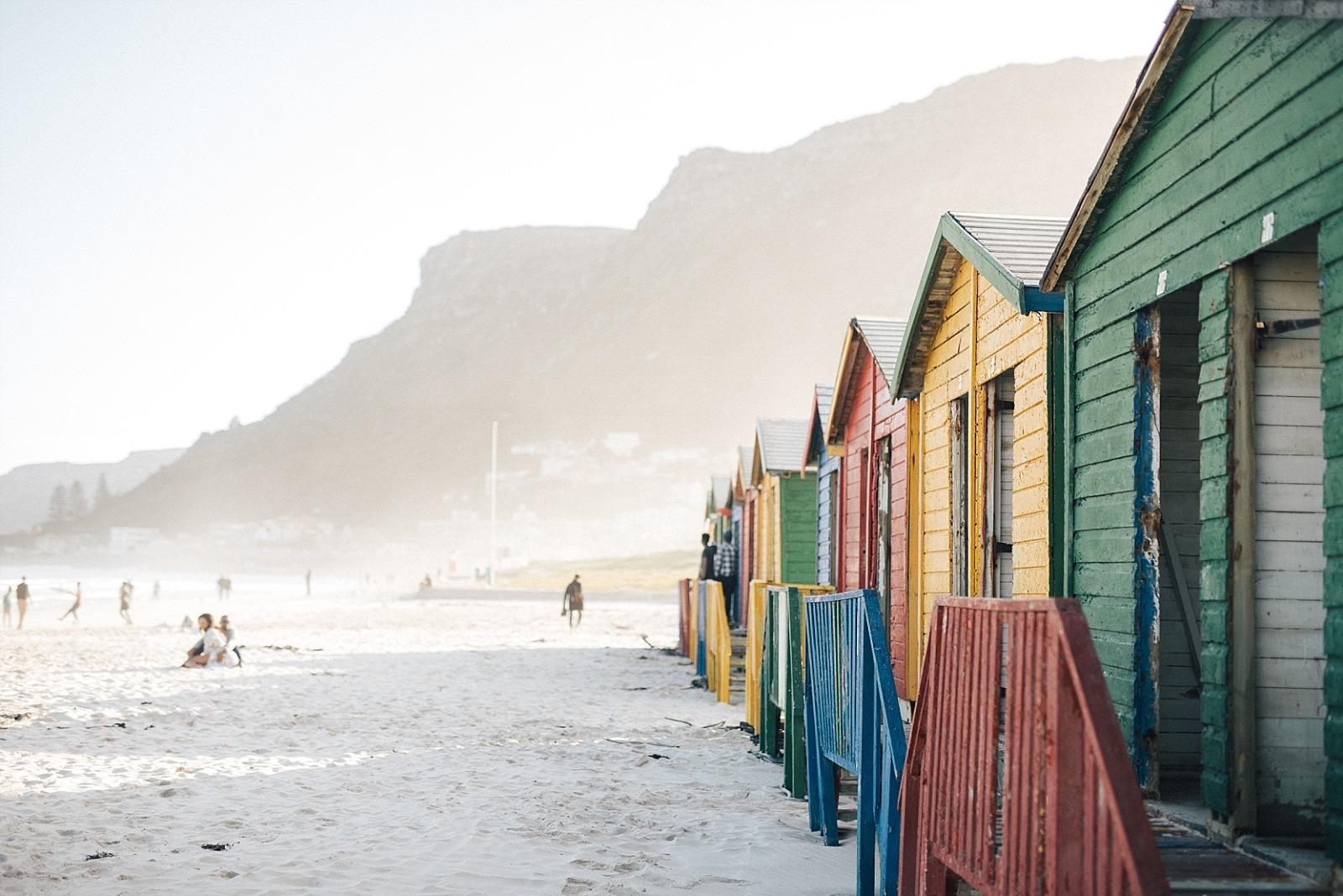 Cape town muizenberg afrique du sud