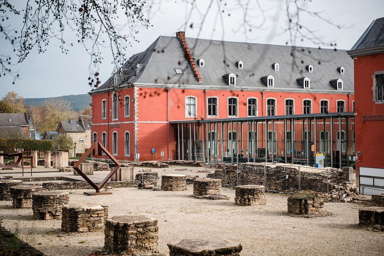 ville de Stavelot Abbaye Totemus