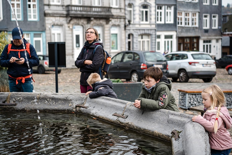 ville de Stavelot Totemus promenade Belgique