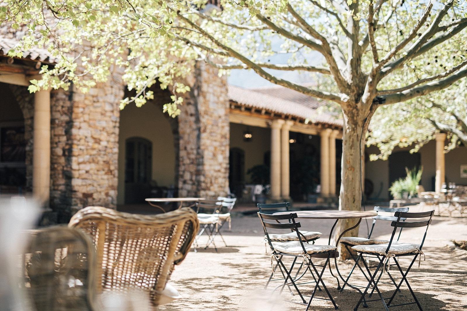 Cape town stellenbosch vignoble afrique du sud waterford estate