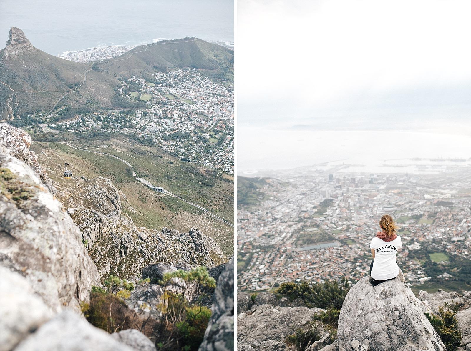 Cape town afrique du sud table mountain
