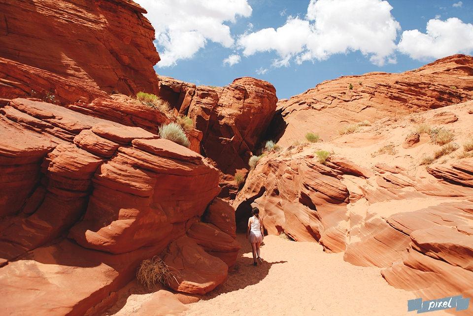 canyons américains antelope canyon