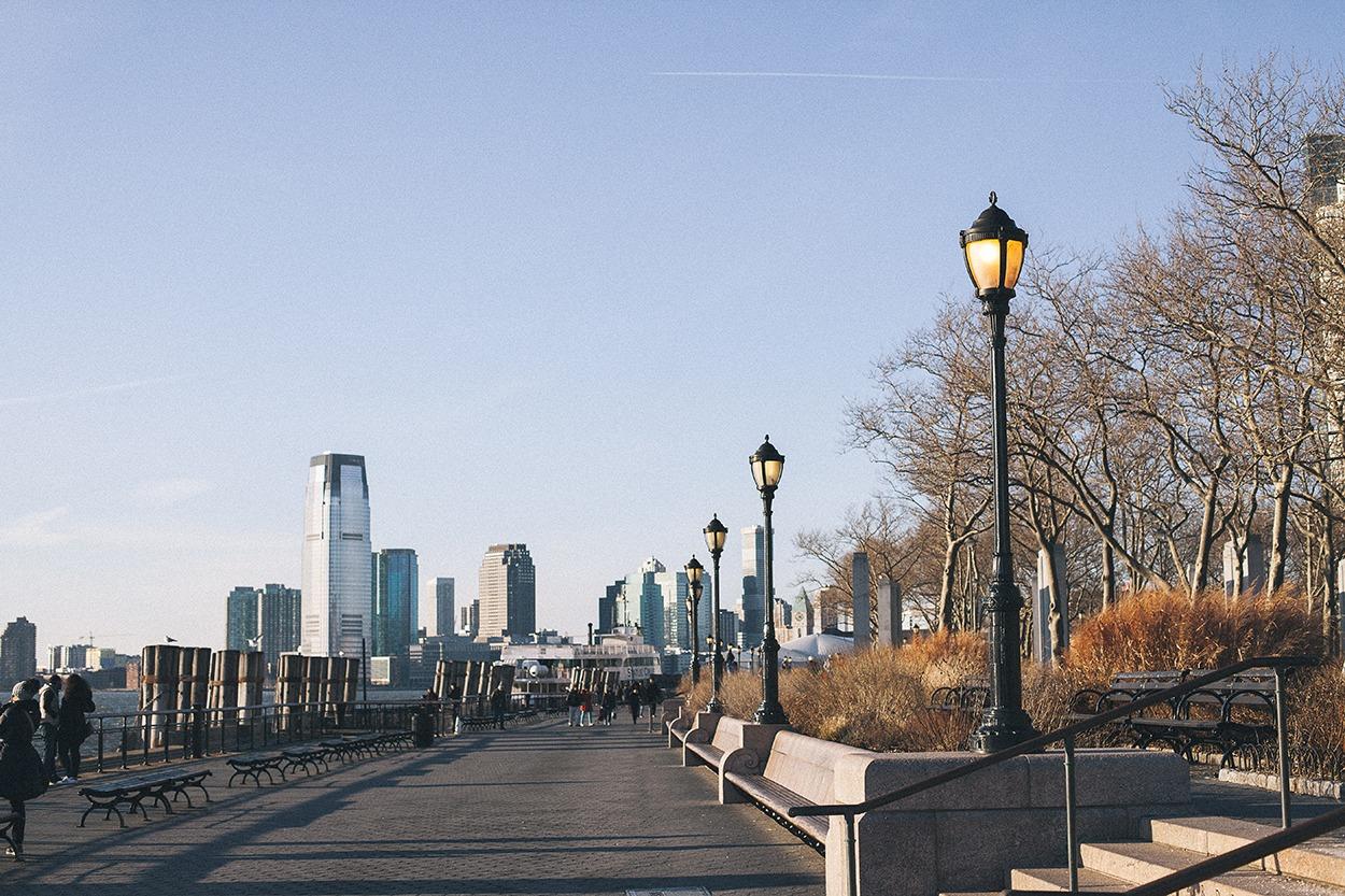 Financial district new york city battery park wall street manhattan