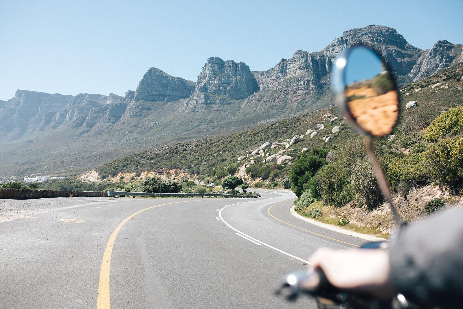 Cape Town afrique du sud Sea Point  cape sidecar adventures