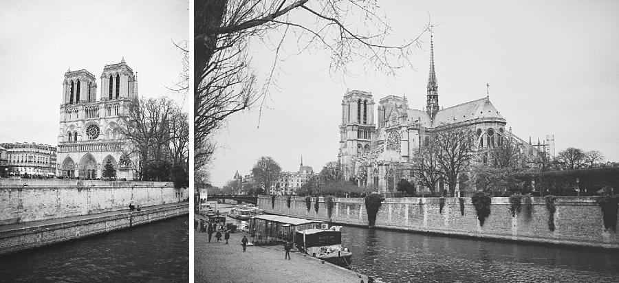 Séjour amoureux à Paris cathédrale notre dame de paris