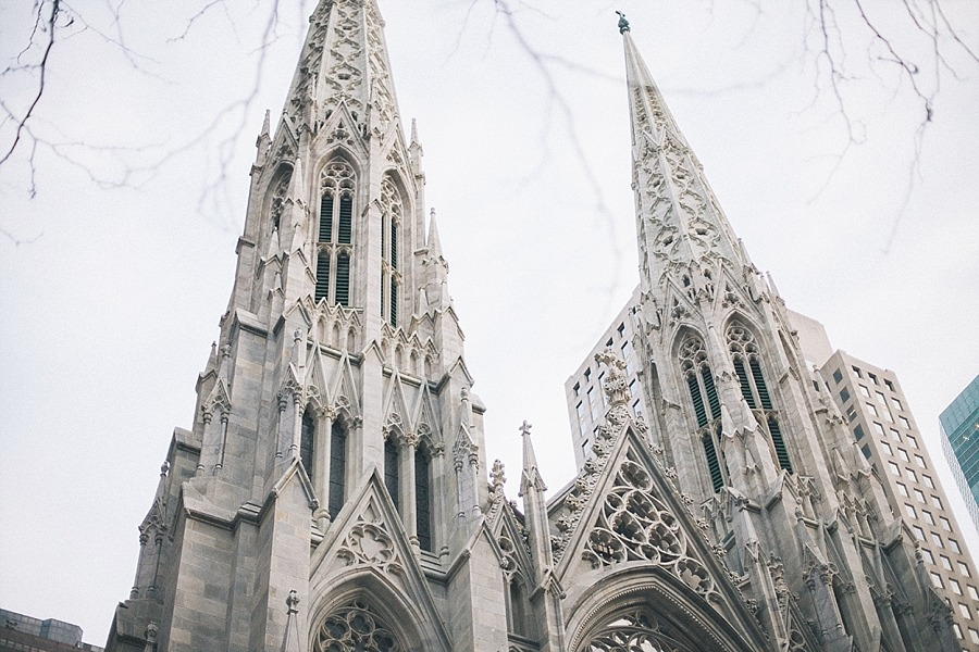 New york city manhattan USA Cathédrale Saint Patrick