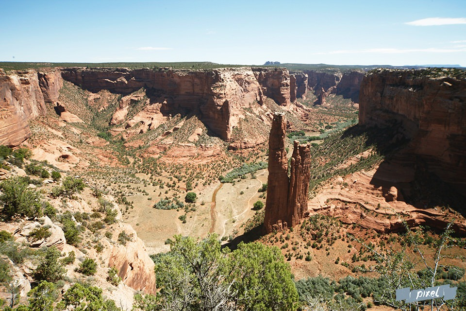canyons américains chelly canyon