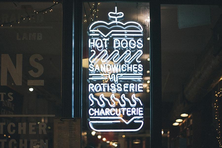 NYC Manhattan Chelsea market