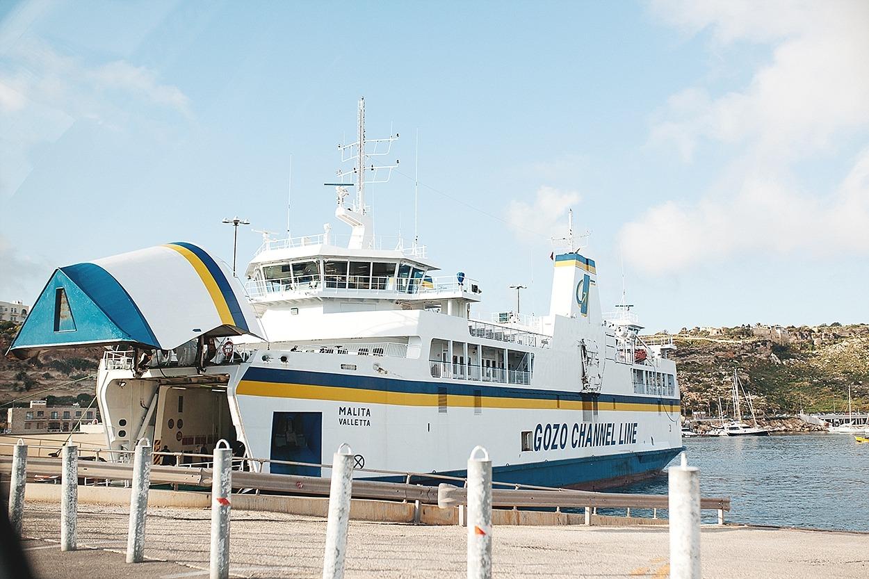 Gozo ferry boat