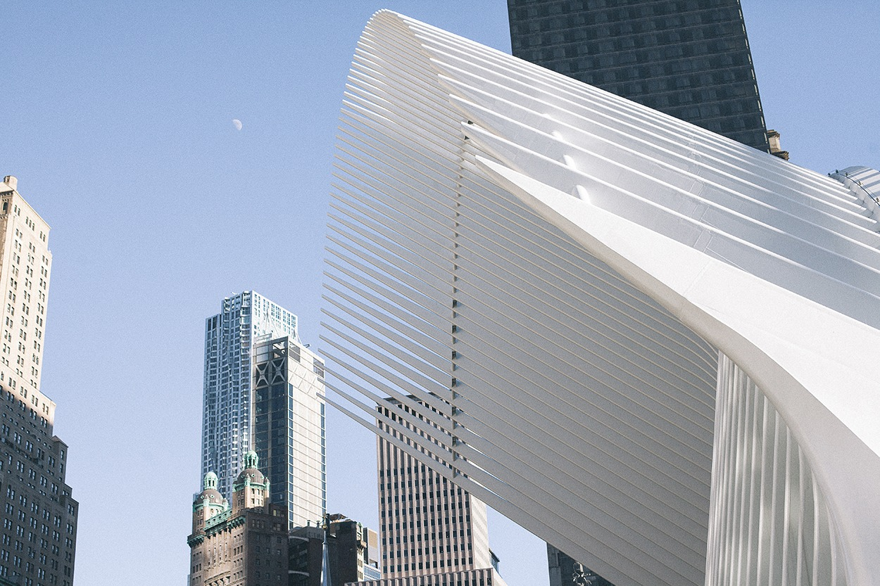 Financial district new york city ground zéro manhattan