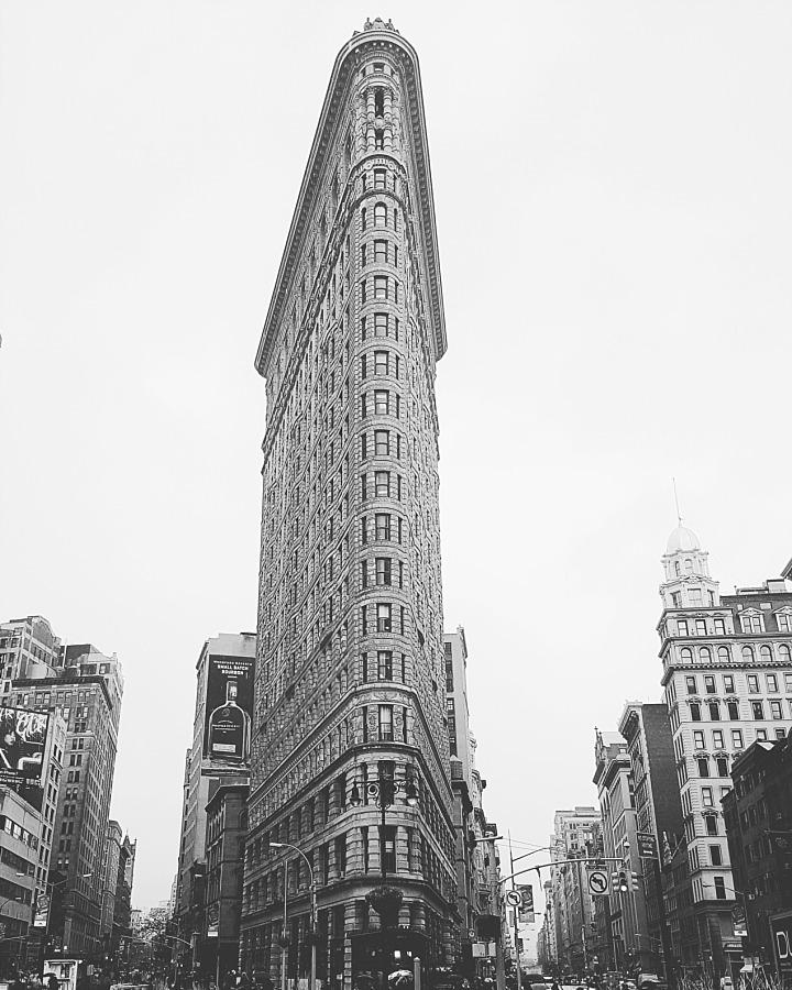 NYC Broadway flatiron