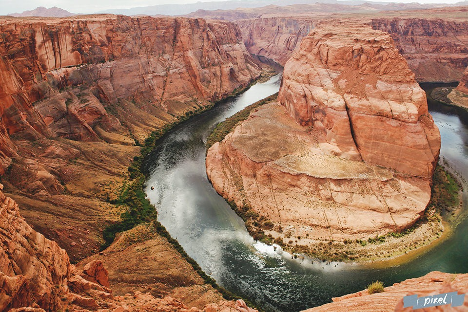 canyons américains horseshoe bend