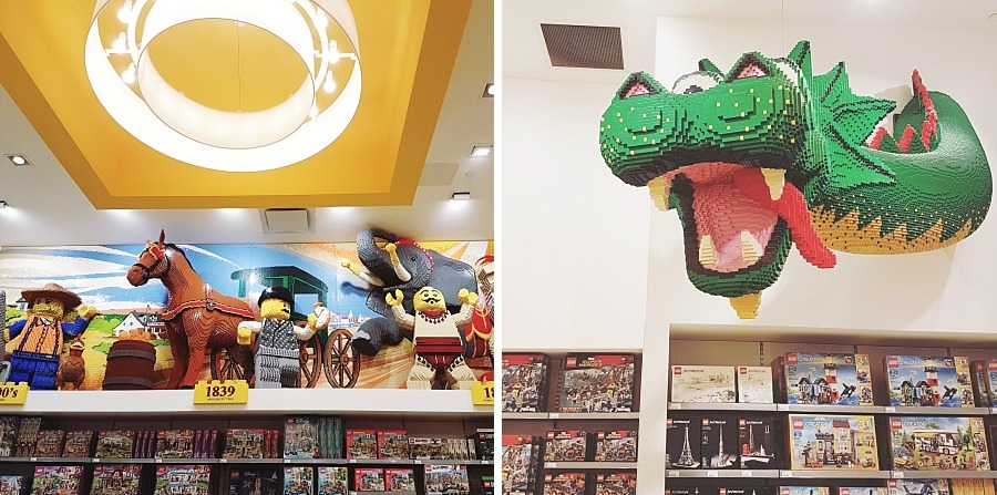 NYC Broadway lego store