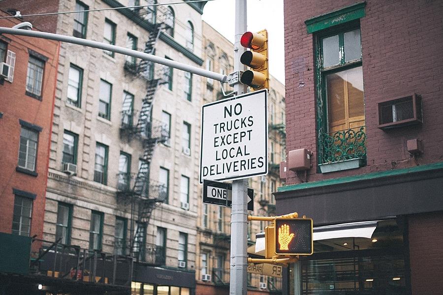 NYC Broadway Greenwich village